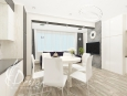 Кухня - студия с пианино 35 м.кв. Гостомель