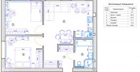 3-х комнатная кв-ра, 57 м.кв, Ирпень