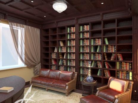 кабинет в частном доме